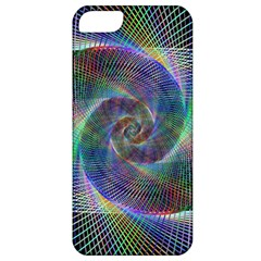 Psychedelic Spiral Apple Iphone 5 Classic Hardshell Case by StuffOrSomething