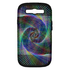 Psychedelic Spiral Samsung Galaxy S Iii Hardshell Case (pc+silicone) by StuffOrSomething