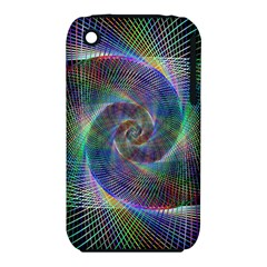 Psychedelic Spiral Apple Iphone 3g/3gs Hardshell Case (pc+silicone) by StuffOrSomething
