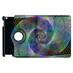 Psychedelic Spiral Apple Ipad 3/4 Flip 360 Case by StuffOrSomething