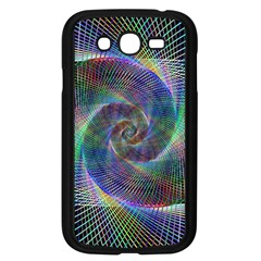 Psychedelic Spiral Samsung Galaxy Grand Duos I9082 Case (black) by StuffOrSomething