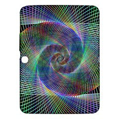 Psychedelic Spiral Samsung Galaxy Tab 3 (10 1 ) P5200 Hardshell Case  by StuffOrSomething
