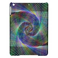 Psychedelic Spiral Apple Ipad Air Hardshell Case by StuffOrSomething