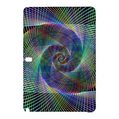 Psychedelic Spiral Samsung Galaxy Tab Pro 12 2 Hardshell Case by StuffOrSomething