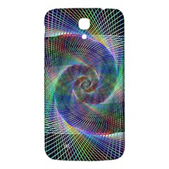 Psychedelic Spiral Samsung Galaxy Mega I9200 Hardshell Back Case by StuffOrSomething