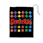 Qwirkle Bag - Drawstring Pouch (Large)