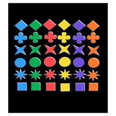 Qwirkle Bag By Dean   Drawstring Pouch (large)   W57pi8ogyebk   Www Artscow Com Back