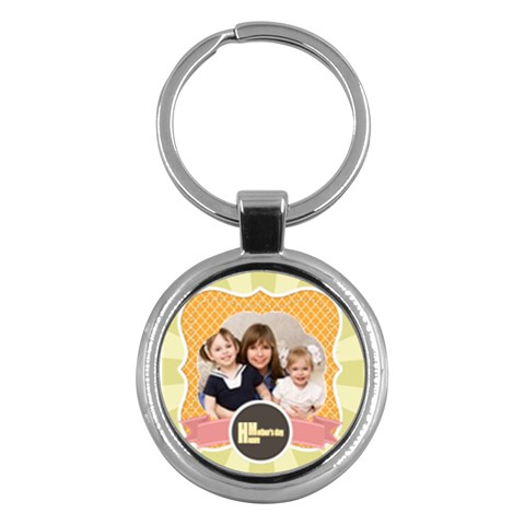 Mothers Day By Mom   Key Chain (round)   3ohxna9un386   Www Artscow Com Front