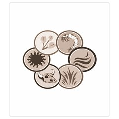 Dominant Species Token Draw Bag By Dean   Drawstring Pouch (small)   R7x43nx7ydcb   Www Artscow Com Back