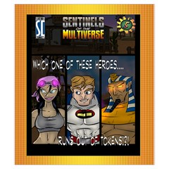 Sotm Hp Token Bag By Dean   Drawstring Pouch (small)   S6qa2o1bg4op   Www Artscow Com Front