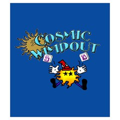 Cosmic Wimpout Storage Bag By Dean   Drawstring Pouch (small)   1dr6tloxeh25   Www Artscow Com Back