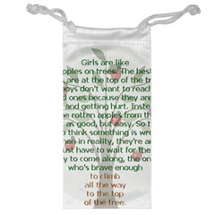 Girls Are Like Apples Jewelry Bag by TheWowFactor