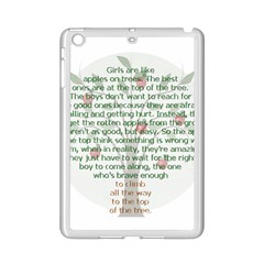 Girls Are Like Apples Apple Ipad Mini 2 Case (white) by TheWowFactor