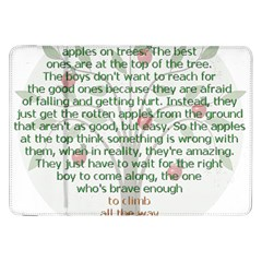 Girls Are Like Apples Samsung Galaxy Tab 8 9  P7300 Flip Case by TheWowFactor