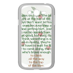 Girls Are Like Apples Samsung Galaxy Grand Duos I9082 Case (white) by TheWowFactor