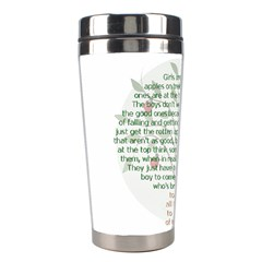 Girls Are Like Apples Stainless Steel Travel Tumbler by TheWowFactor
