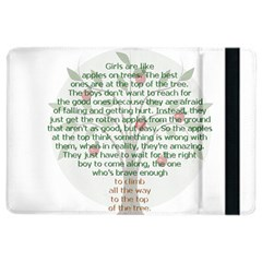 Girls Are Like Apples Apple Ipad Air 2 Flip Case by TheWowFactor