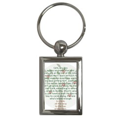 Appletree Key Chain (rectangle) by TheWowFactor