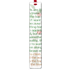 Appletree Large Bookmark by TheWowFactor