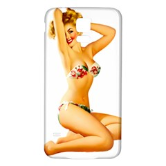 Sexy Bikini Pinup Samsung Galaxy S5 Back Case (white) by TheWowFactor