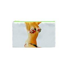 Sexy Bikini Pinup Cosmetic Bag (xs) by TheWowFactor
