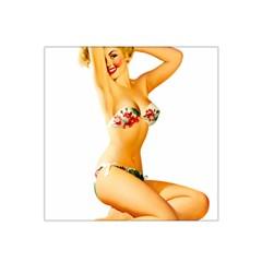 Sexy Bikini Pinup Satin Bandana Scarf by TheWowFactor