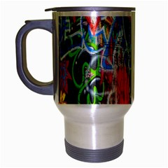 The Sixties Travel Mug (silver Gray) by TheWowFactor