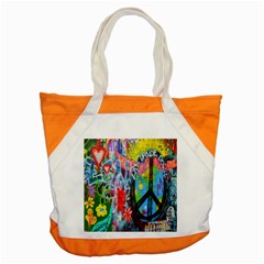 The Sixties Accent Tote Bag by TheWowFactor