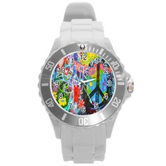 The Sixties Plastic Sport Watch (large) by TheWowFactor