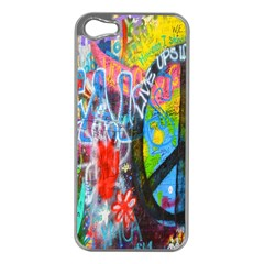 The Sixties Apple Iphone 5 Case (silver) by TheWowFactor