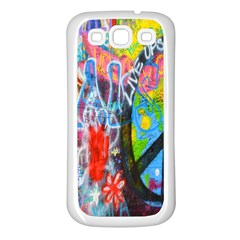The Sixties Samsung Galaxy S3 Back Case (white) by TheWowFactor