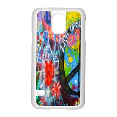 The Sixties Samsung Galaxy S5 Case (white) by TheWowFactor