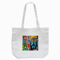 The Sixties Tote Bag (white) by TheWowFactor