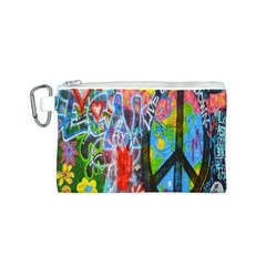 The Sixties Canvas Cosmetic Bag (small) by TheWowFactor