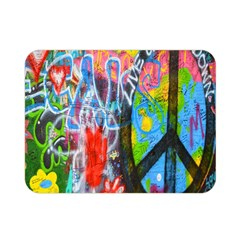 The Sixties Double Sided Flano Blanket (mini) by TheWowFactor