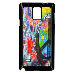 The Sixties Samsung Galaxy Note 4 Case (black) by TheWowFactor