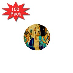 Egyptian Queens 1  Mini Button (100 Pack) by TheWowFactor