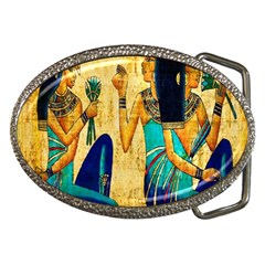 Egyptian Queens Belt Buckle (oval) by TheWowFactor