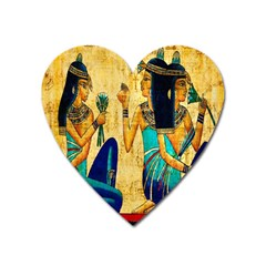 Egyptian Queens Magnet (heart) by TheWowFactor