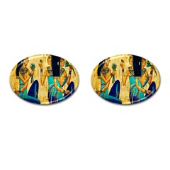 Egyptian Queens Cufflinks (oval) by TheWowFactor