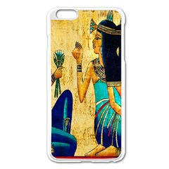 Egyptian Queens Apple Iphone 6 Plus Enamel White Case by TheWowFactor