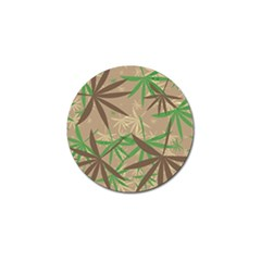 Leaves Golf Ball Marker (10 Pack) by LalyLauraFLM