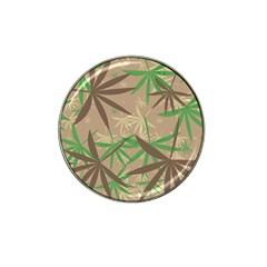 Leaves Hat Clip Ball Marker by LalyLauraFLM
