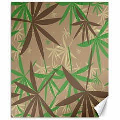 Leaves Canvas 8  X 10  by LalyLauraFLM