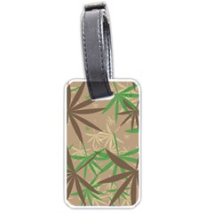 Leaves Luggage Tag (two Sides) by LalyLauraFLM