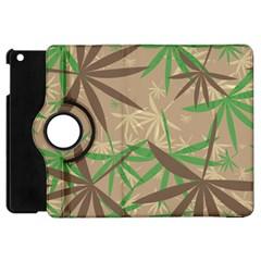 Leaves Apple Ipad Mini Flip 360 Case by LalyLauraFLM