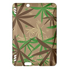 Leaves kindle Fire Hdx Hardshell Case by LalyLauraFLM