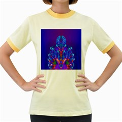 Insect Women s Ringer T Shirt (colored) by icarusismartdesigns