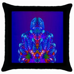 Insect Black Throw Pillow Case by icarusismartdesigns