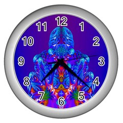 Insect Wall Clock (silver) by icarusismartdesigns